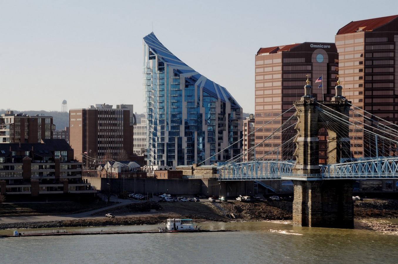 Ascent At Roebling Bridge by Daniel Libeskind: Bridging Gaps Sheet4