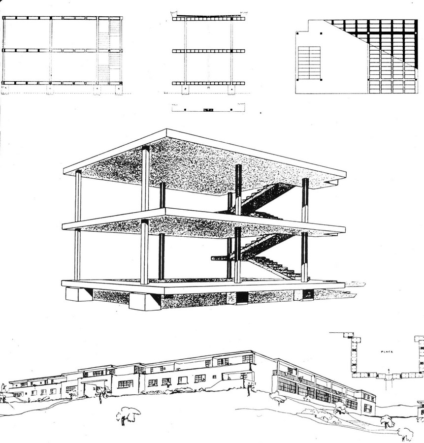 Rediscovering History: The Milestones in Architecture Sheet15