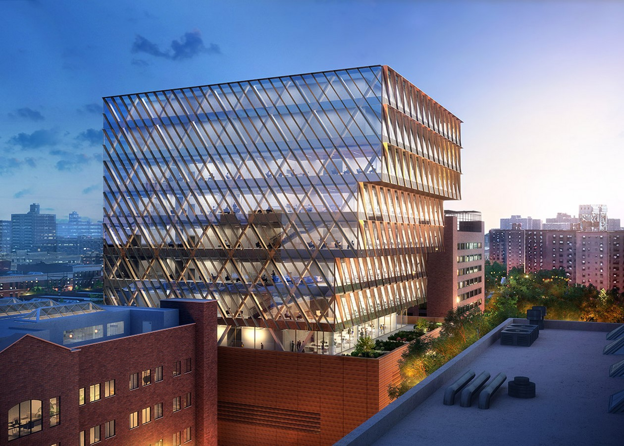 New Public Health Laboratory in New York designed by SOM Sheet2