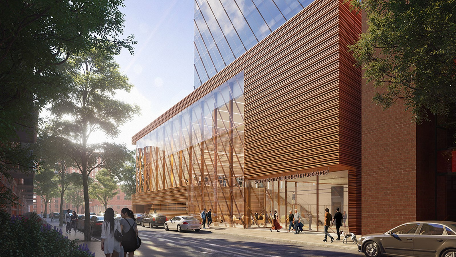 New Public Health Laboratory in New York designed by SOM Sheet4