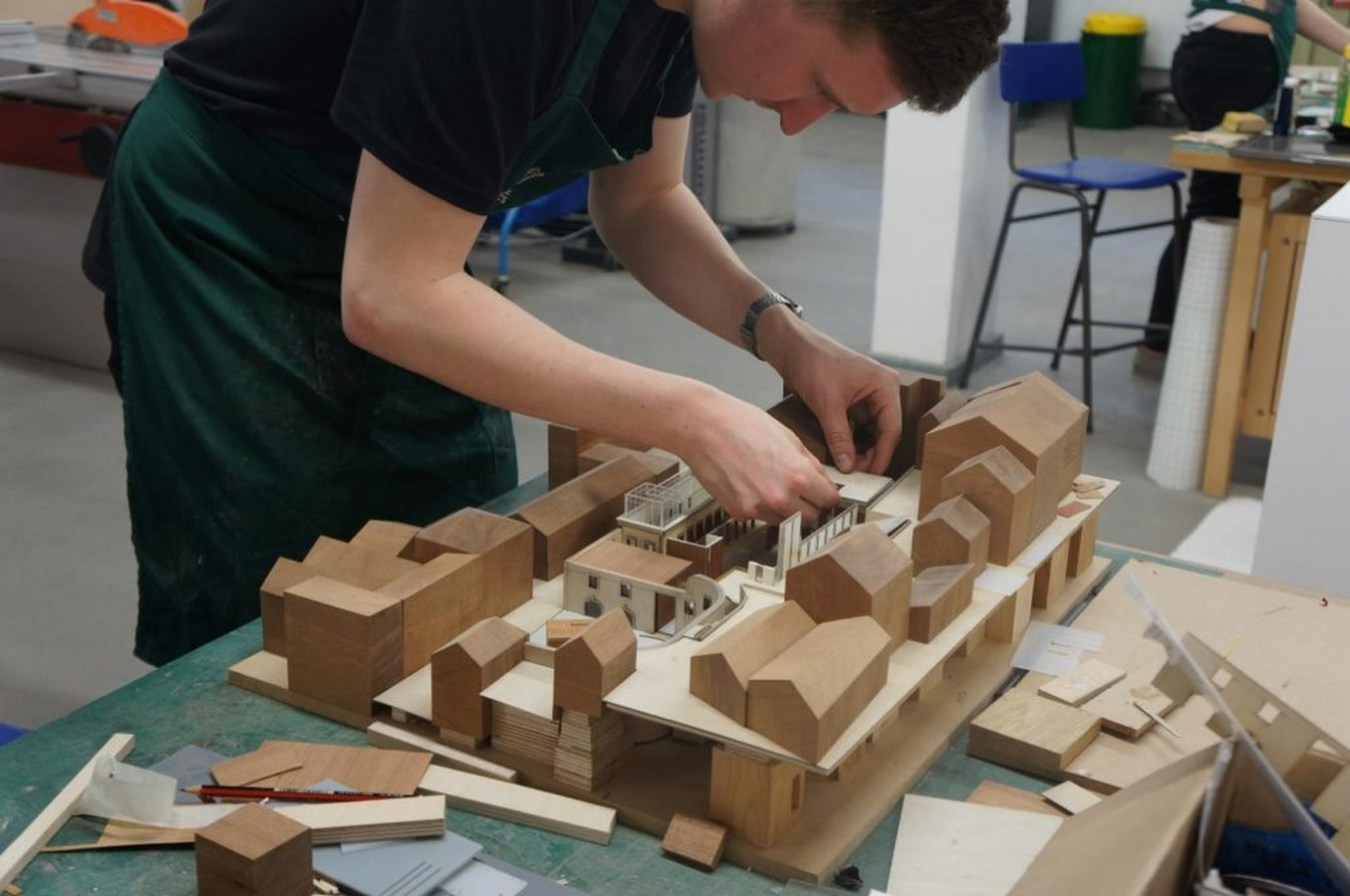 Is architectural model making a dying art? Sheet1