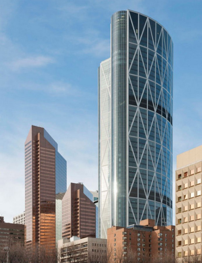 The Bow by Norman Foster: City's Tallest Building Sheet1