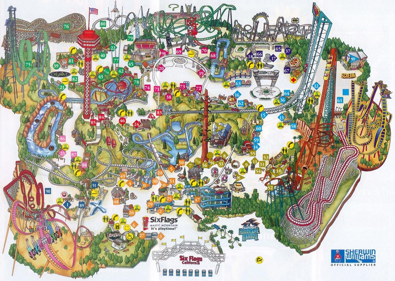 An Architecture Review of Six Flags Magic Mountain, Los Angeles Sheet1