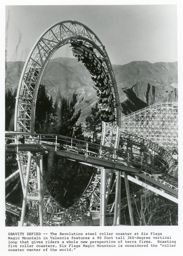 An Architecture Review of Six Flags Magic Mountain, Los Angeles Sheet2