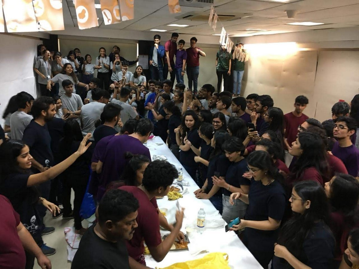 Campus life at Balwant Sheth School of Architecture Sheet3