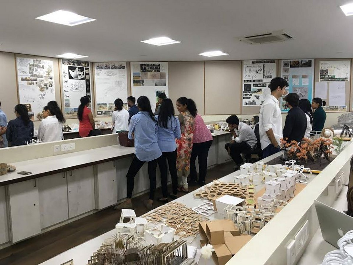 Campus life at Balwant Sheth School of Architecture Sheet8