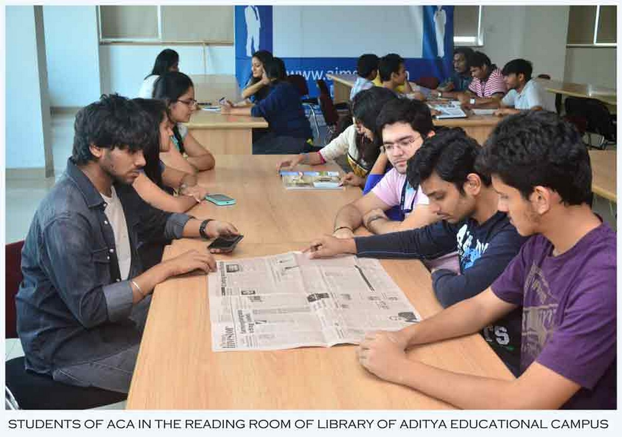 Campus life at Aditya College of Architecture Sheet3