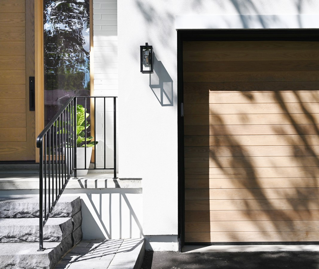 Located on a large lot situated on a quiet tree lined street in Etobicoke, Toronto, sits what once was a tired bungalow, turned 2-storey contemporary single family dwelling, transformed by Ancerl Studio: Sheet 1
