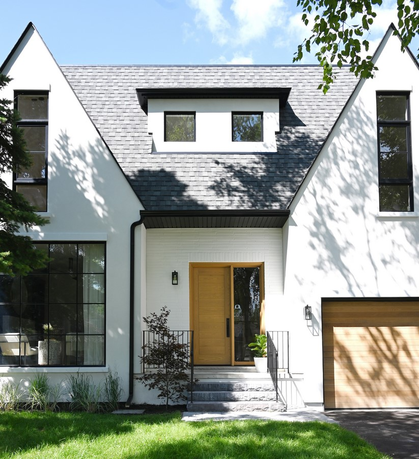 Located on a large lot situated on a quiet tree lined street in Etobicoke, Toronto, sits what once was a tired bungalow, turned 2-storey contemporary single family dwelling, transformed by Ancerl Studio: Sheet 3