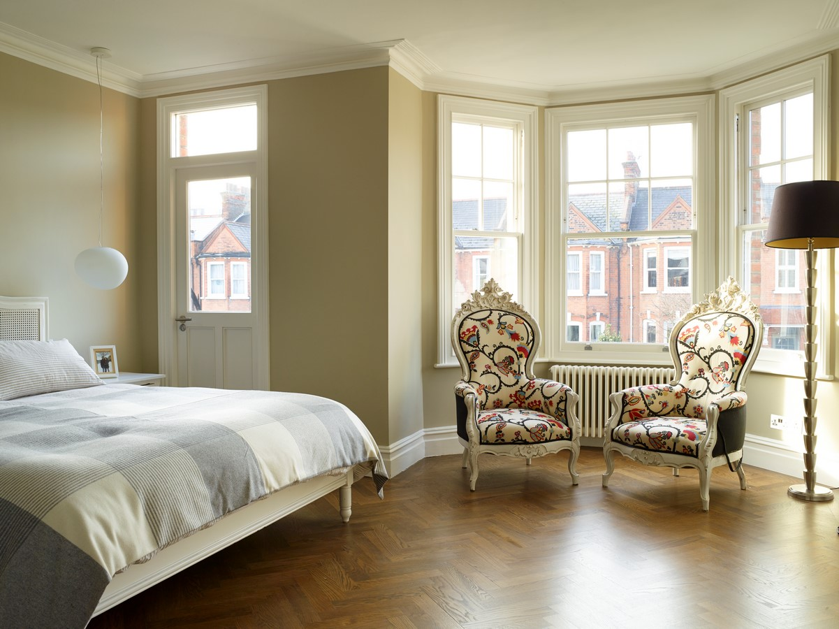 Complete refurbishment and extension of an end of terrace family house dating from 1905. Unmodernised since the 1950s, the corner house on Highlever Road was in a state of decay when Gluckman Smith were first engaged.: Sheet 1