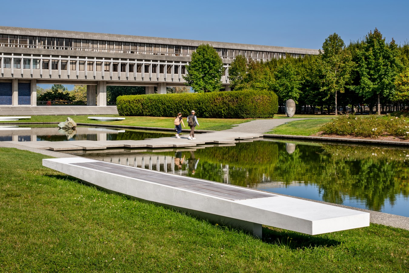 Built in 1965, the Erickson / Massey Simon Fraser University Campus is among the most significant pieces of Canadian architecture. The Plaza serves a double function: as an open-air public space and as a roof sheltering education spaces beneath.: Sheet 2