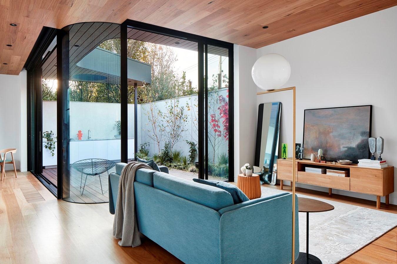 Envelop House is an innovative exploration of single level contemporary inner bayside living.: Sheet 3