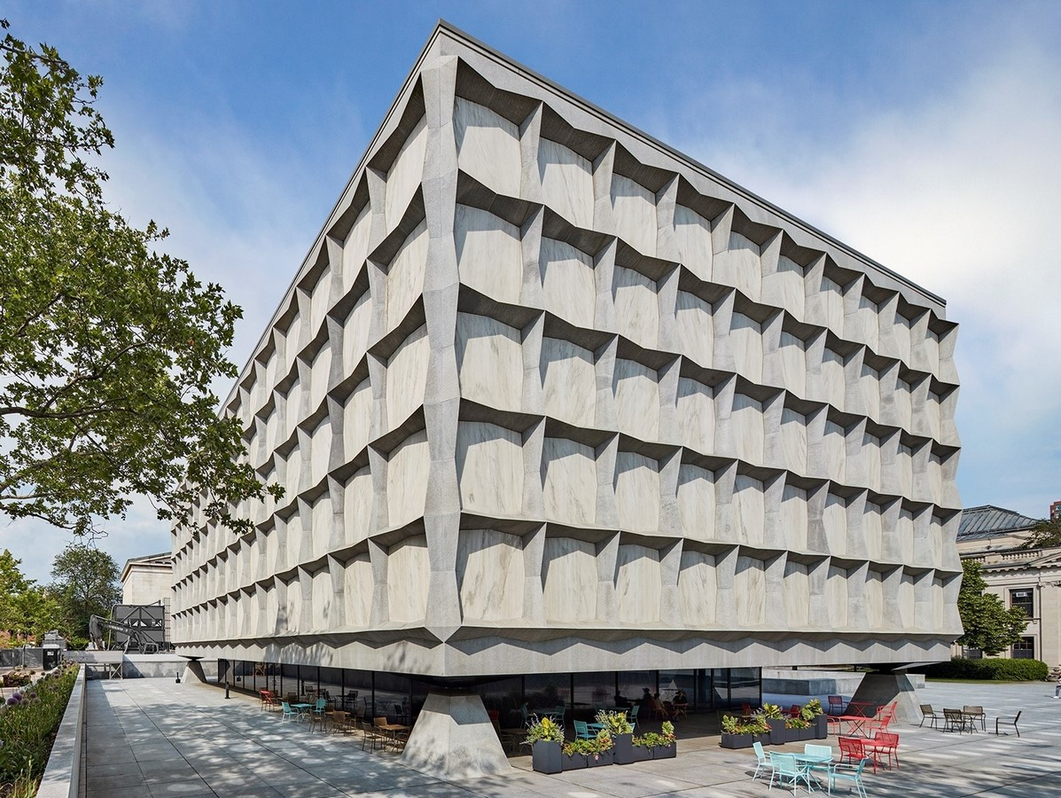 The Beinecke Rare Book & Manuscript Library by SOM: Tower within a Building - Sheet1