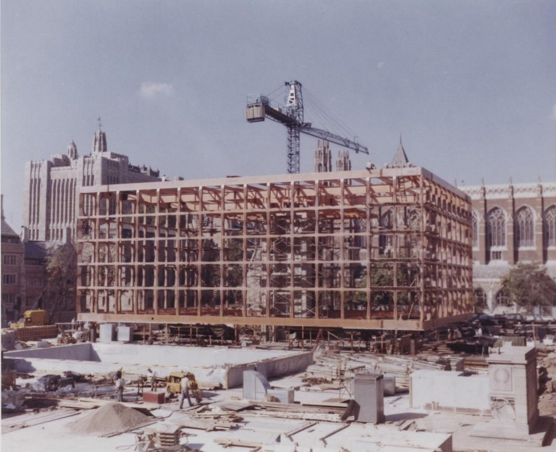 The Beinecke Rare Book & Manuscript Library by SOM: Tower within a Building - Sheet2