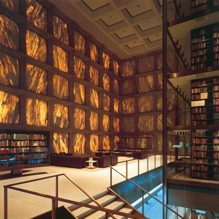 The Beinecke Rare Book & Manuscript Library by SOM: Tower within a Building - Sheet3