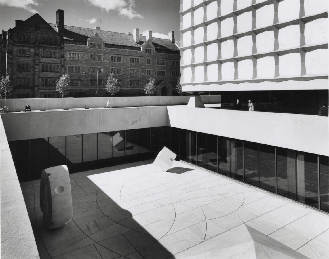 The Beinecke Rare Book & Manuscript Library by SOM: Tower within a Building - Sheet4