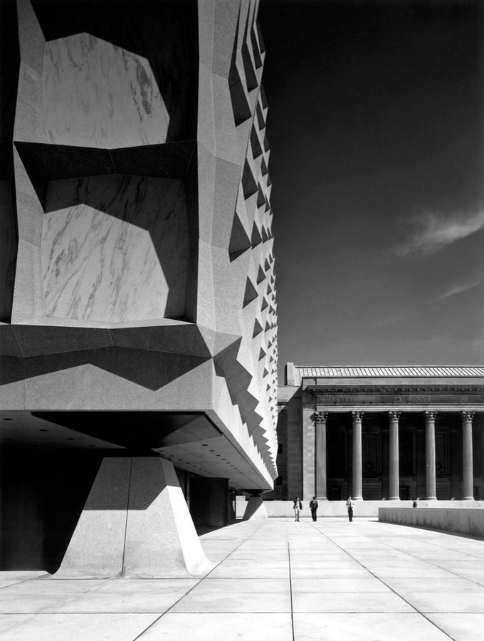 The Beinecke Rare Book & Manuscript Library by SOM: Tower within a Building - Sheet5