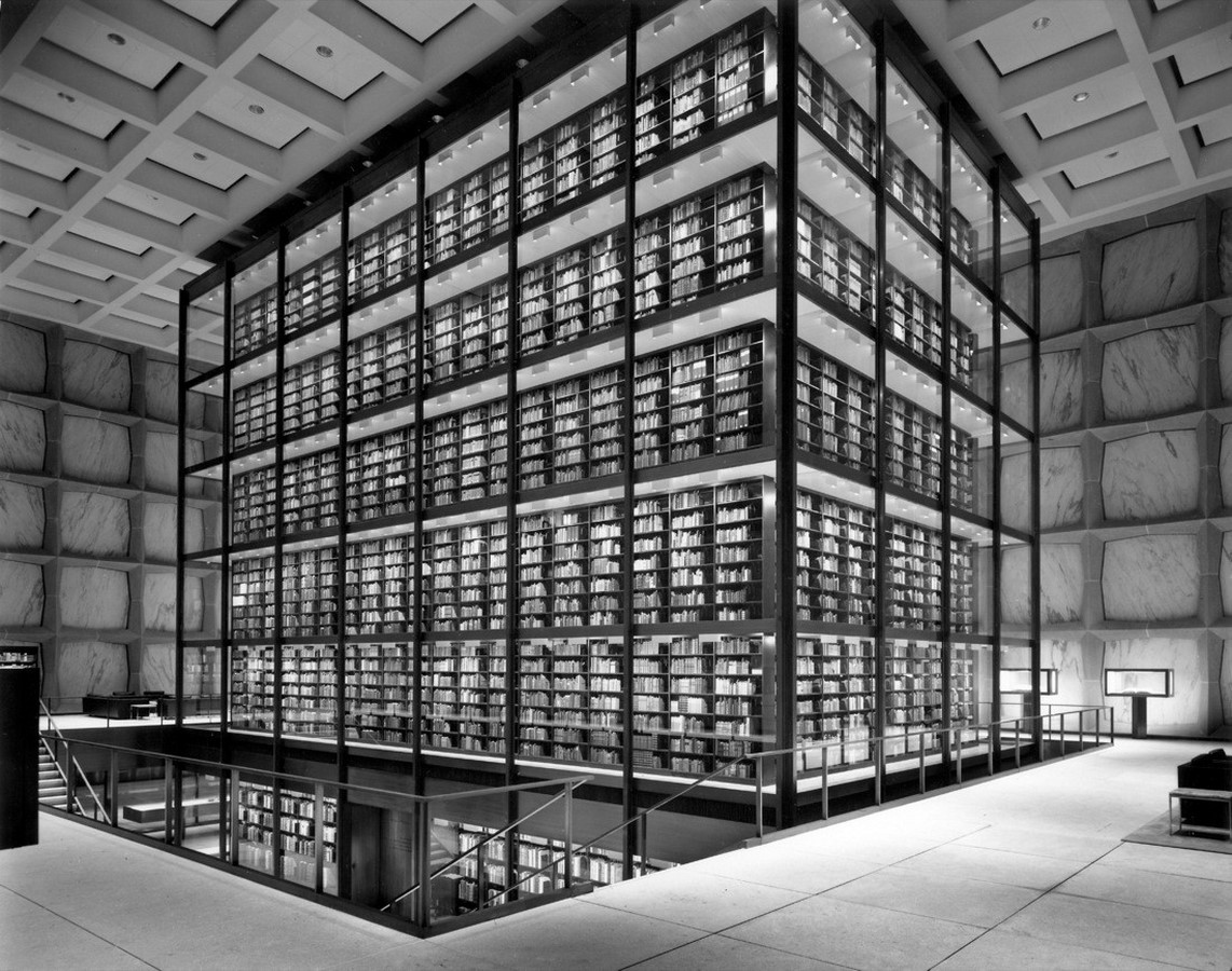 The Beinecke Rare Book & Manuscript Library by SOM: Tower within a Building - Sheet6