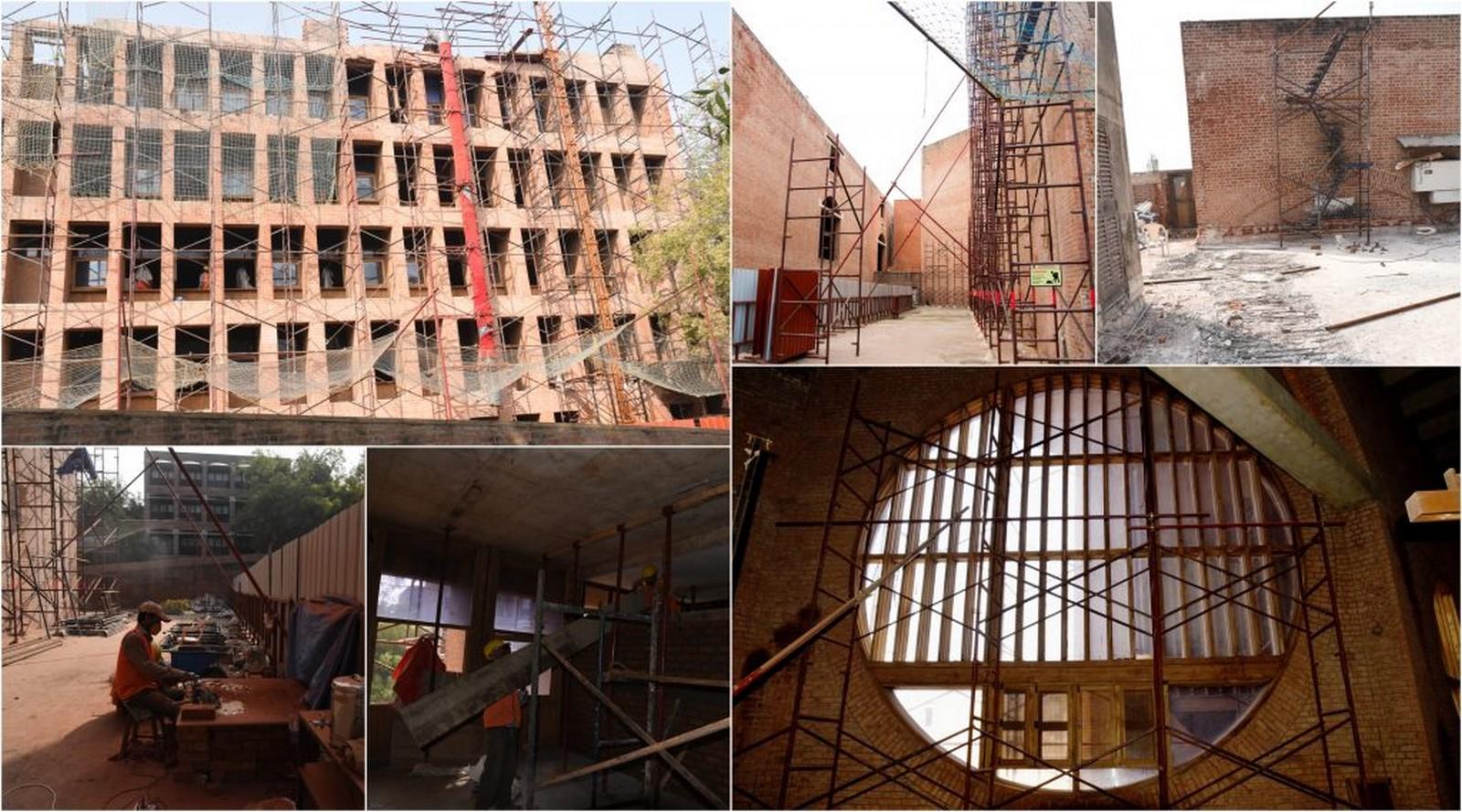 Restoration of Vikram Sarabhai Library at IIM Ahmedabad by Somaya and Kalappa Consultants Pvt. Ltd.: Finest Restoration - Sheet3