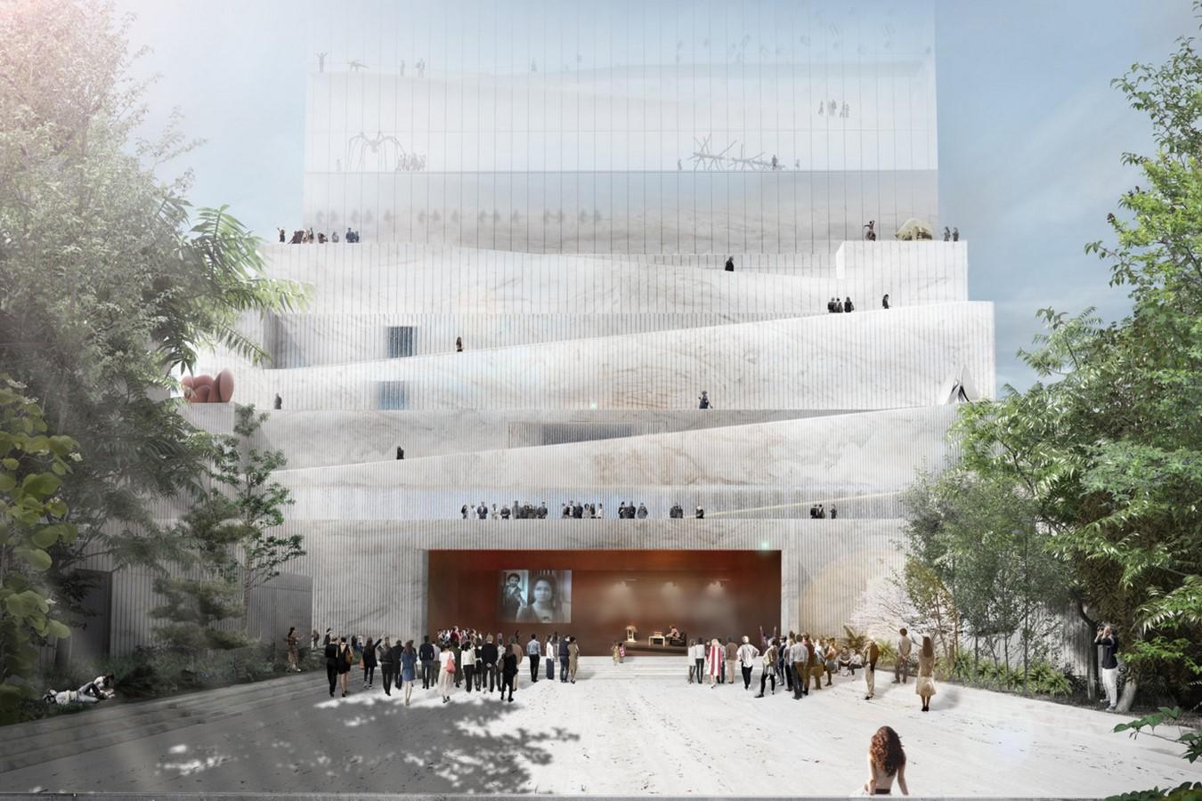 BeMA: Beirut Museum of Art by Lina Ghotmeh: The Urban Theatre - Sheet2