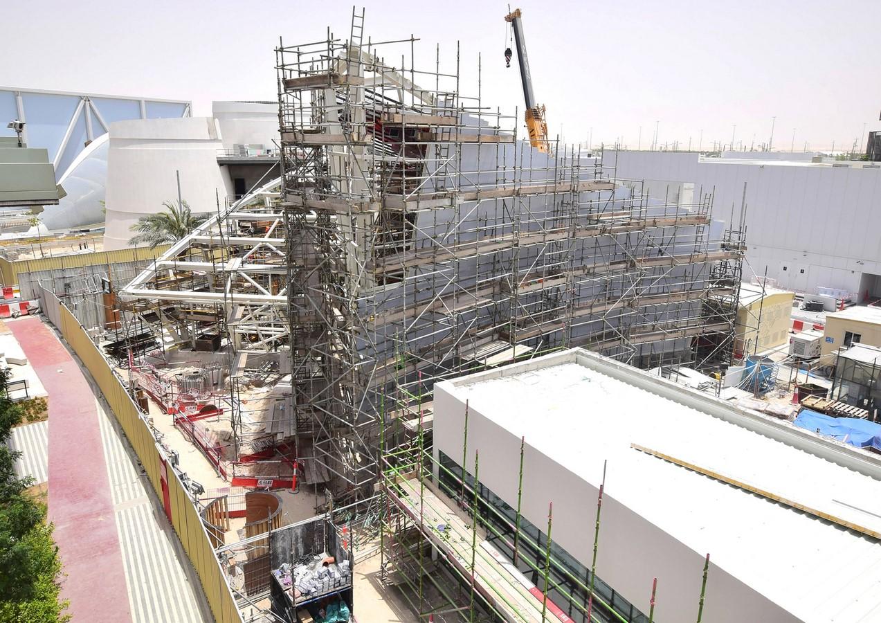 The Qatar Pavilion for the Expo 2020 Dubai design revealed by Santiago Calatrava - Sheet7