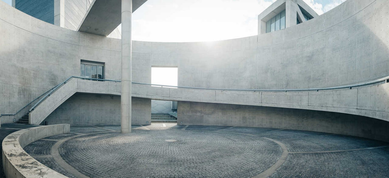 Osaka Prefectural Sayamaike Museum by Tadao Ando: Water and Architecture - Sheet5