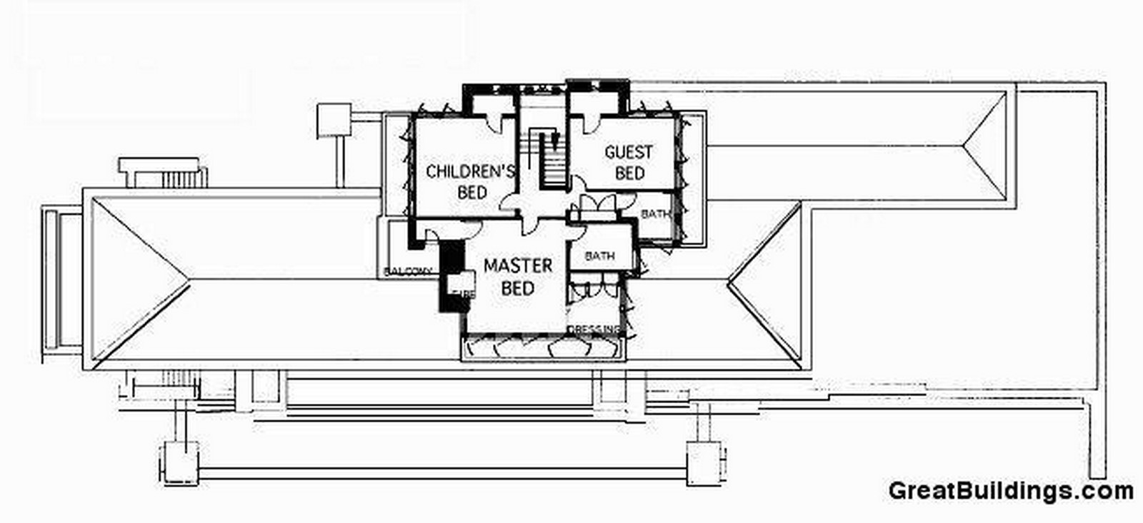 Frederick C. Robie House by Frank Lloyd Wright: Prairie style of architecture - Sheet5