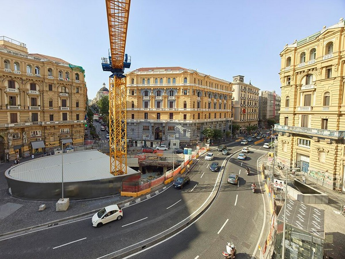 Duomo station merges archaeology with infrastructure in napoli designed by Doriana and Massimiliano Fuksas - Sheet1
