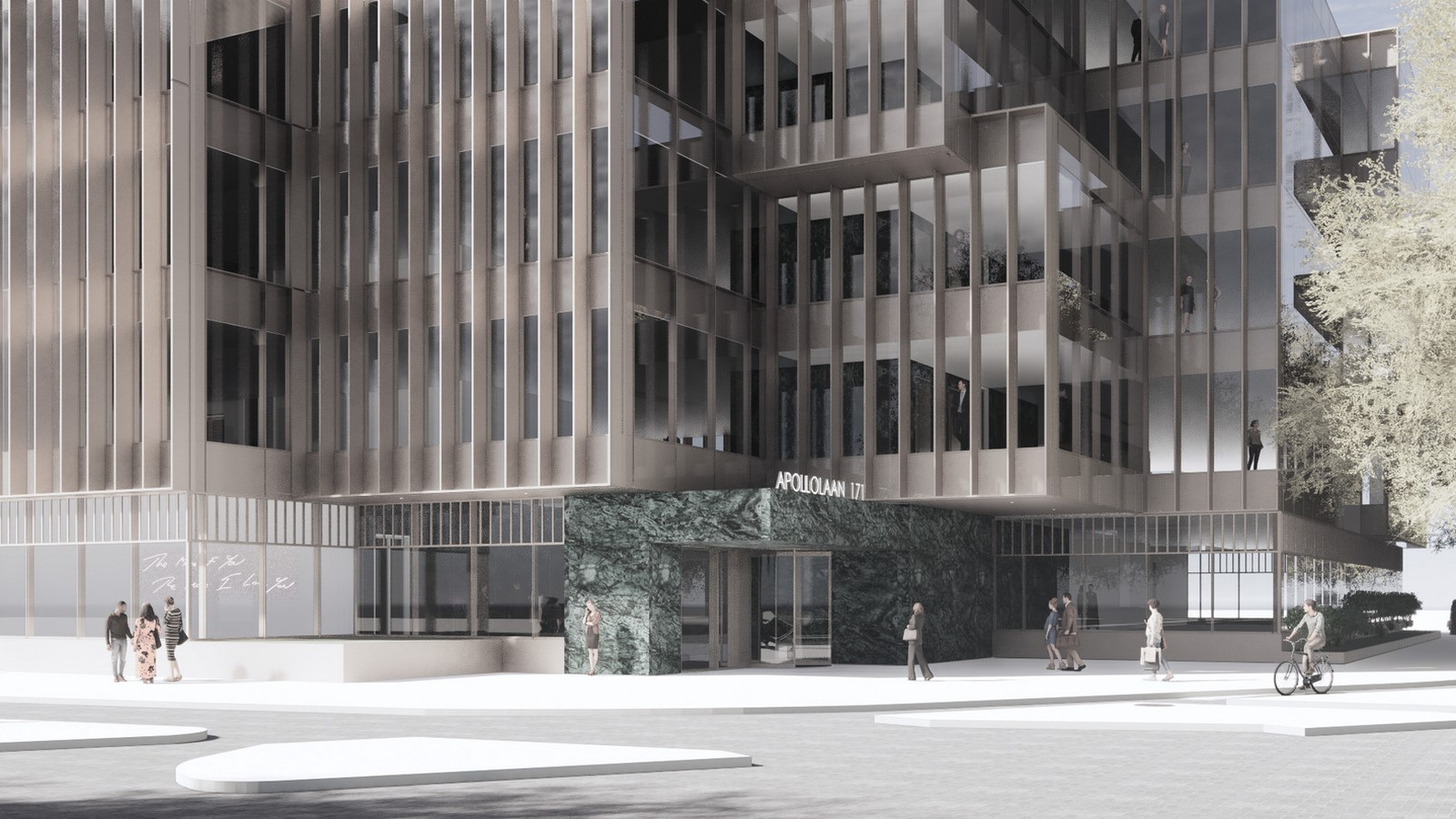 Design for a five-story office building in Amsterdam revealed by OMA / David Gianotten - Sheet5
