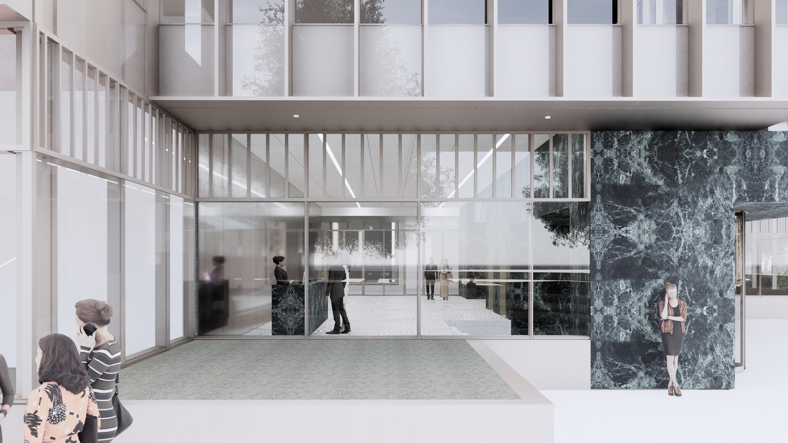 Design for a five-story office building in Amsterdam revealed by OMA / David Gianotten - Sheet6