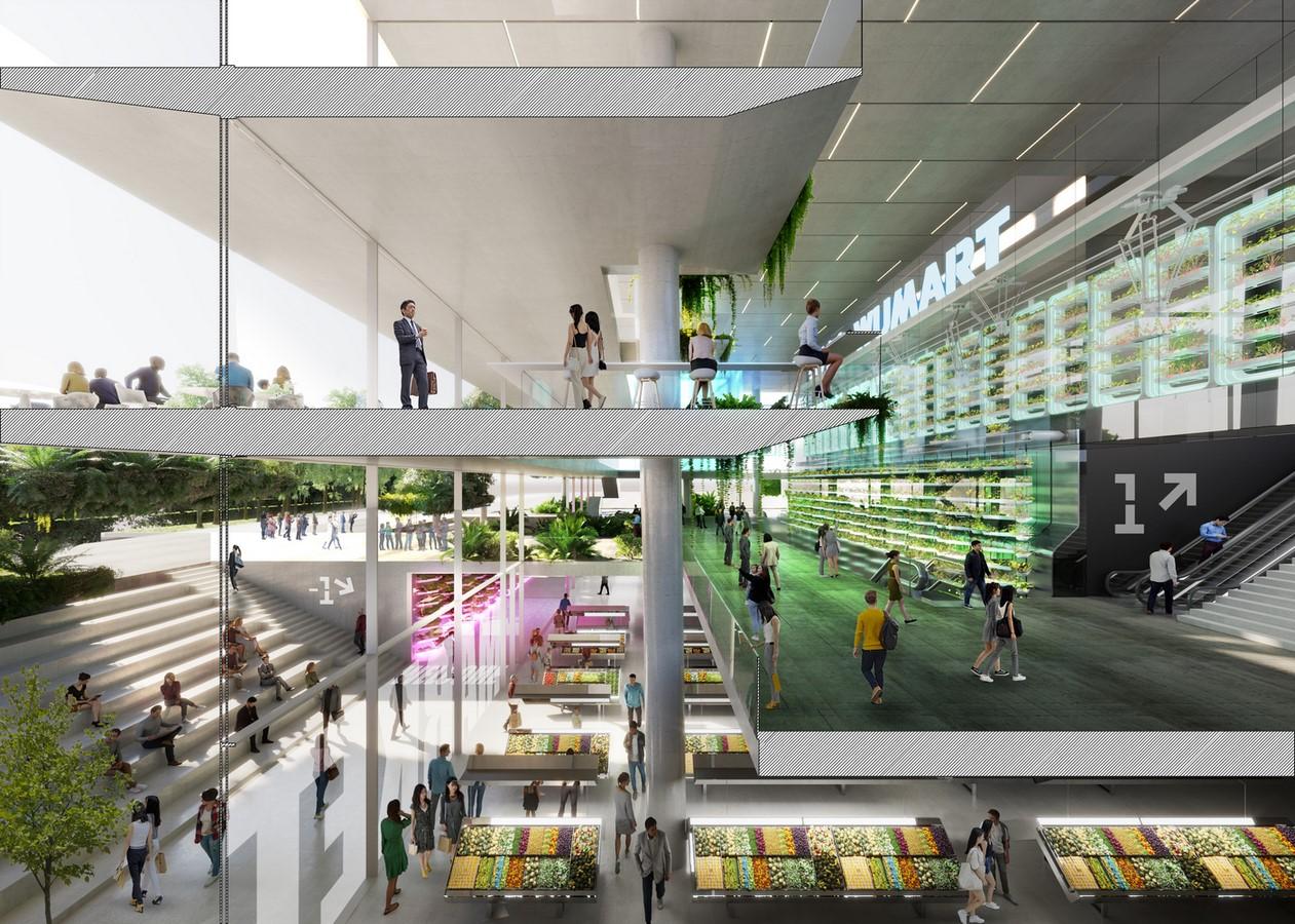 """World's First Farmscraper"" Featuring Vertical Hydroponic Farm designed by Carlo Ratti Associati - Sheet5"