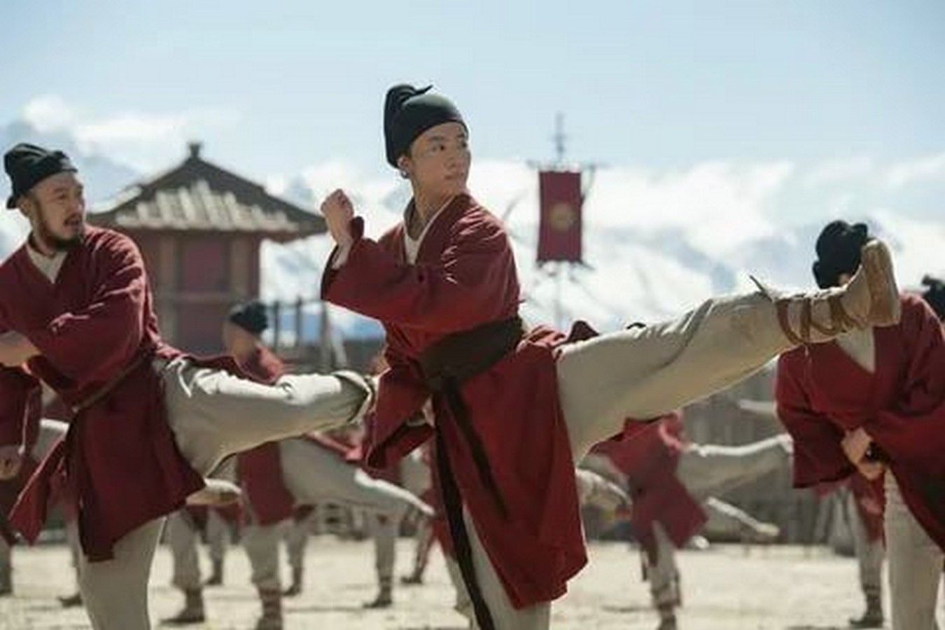 An Arhitectural Review of Mulan Live action - Sheet5