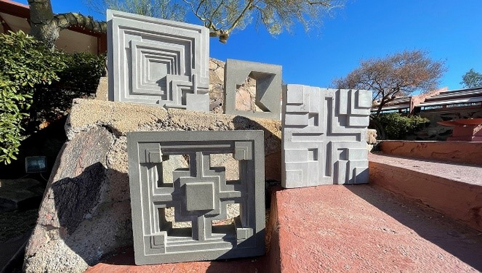 Textile Blocks and 3D Cement Tiles inspired by Frank Lloyd Wright - Sheet2