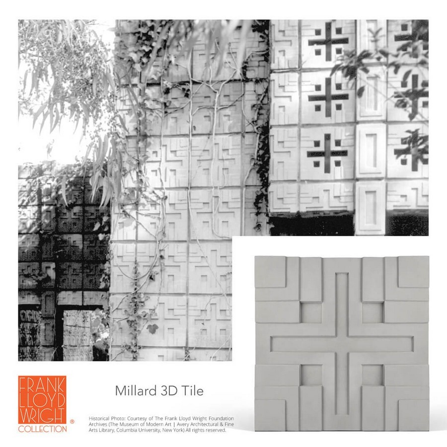 Textile Blocks and 3D Cement Tiles inspired by Frank Lloyd Wright - Sheet3