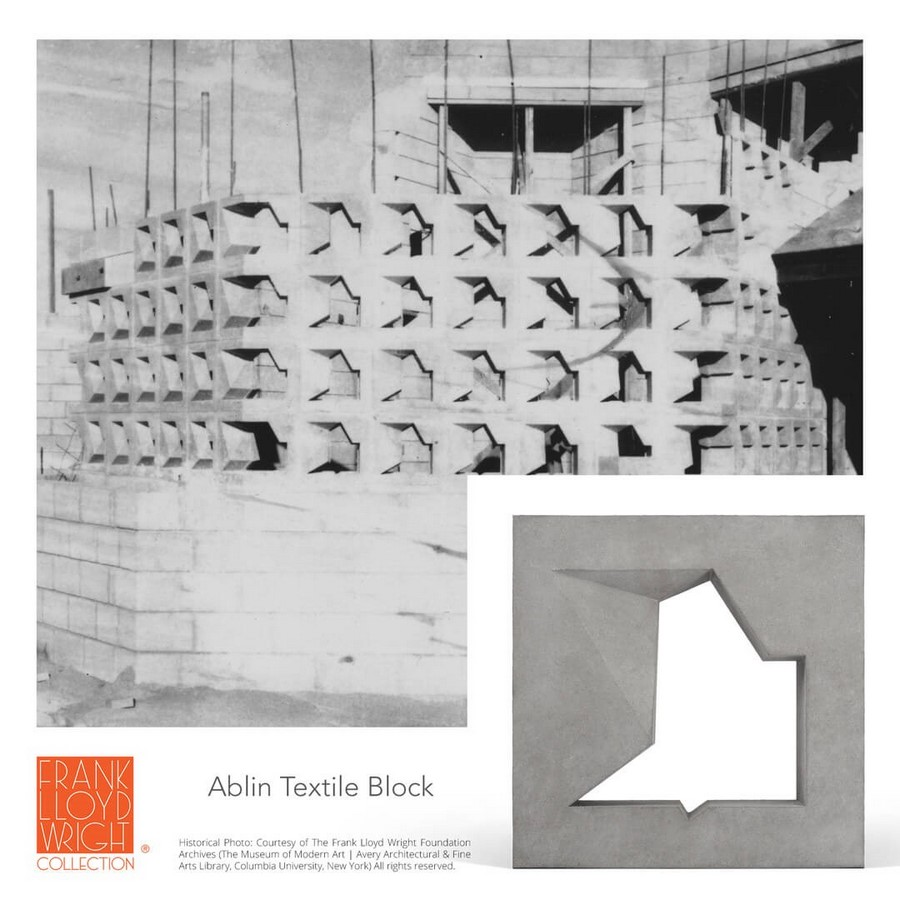 Textile Blocks and 3D Cement Tiles inspired by Frank Lloyd Wright - Sheet5
