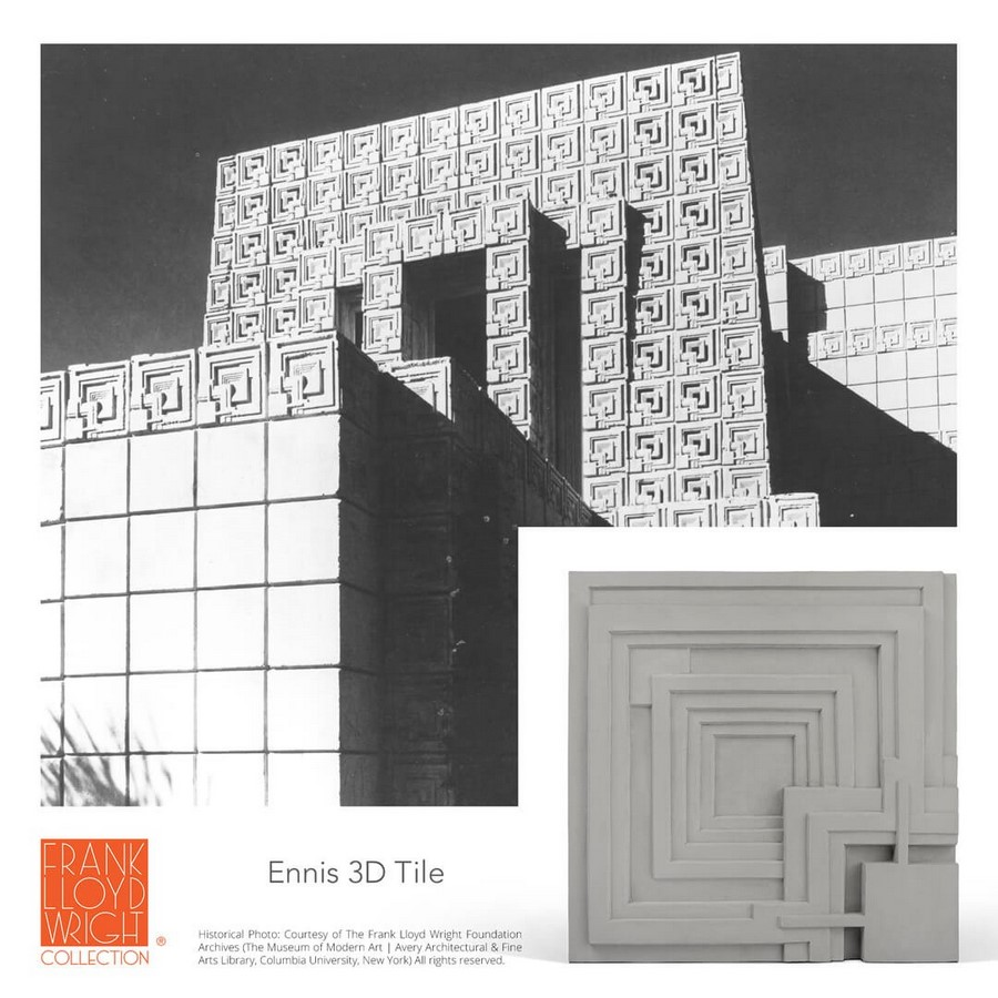 Textile Blocks and 3D Cement Tiles inspired by Frank Lloyd Wright - Sheet7