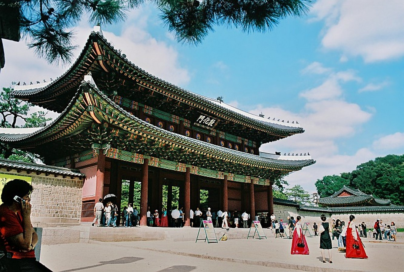 Modern and traditional Architecture in South Korea - Sheet1