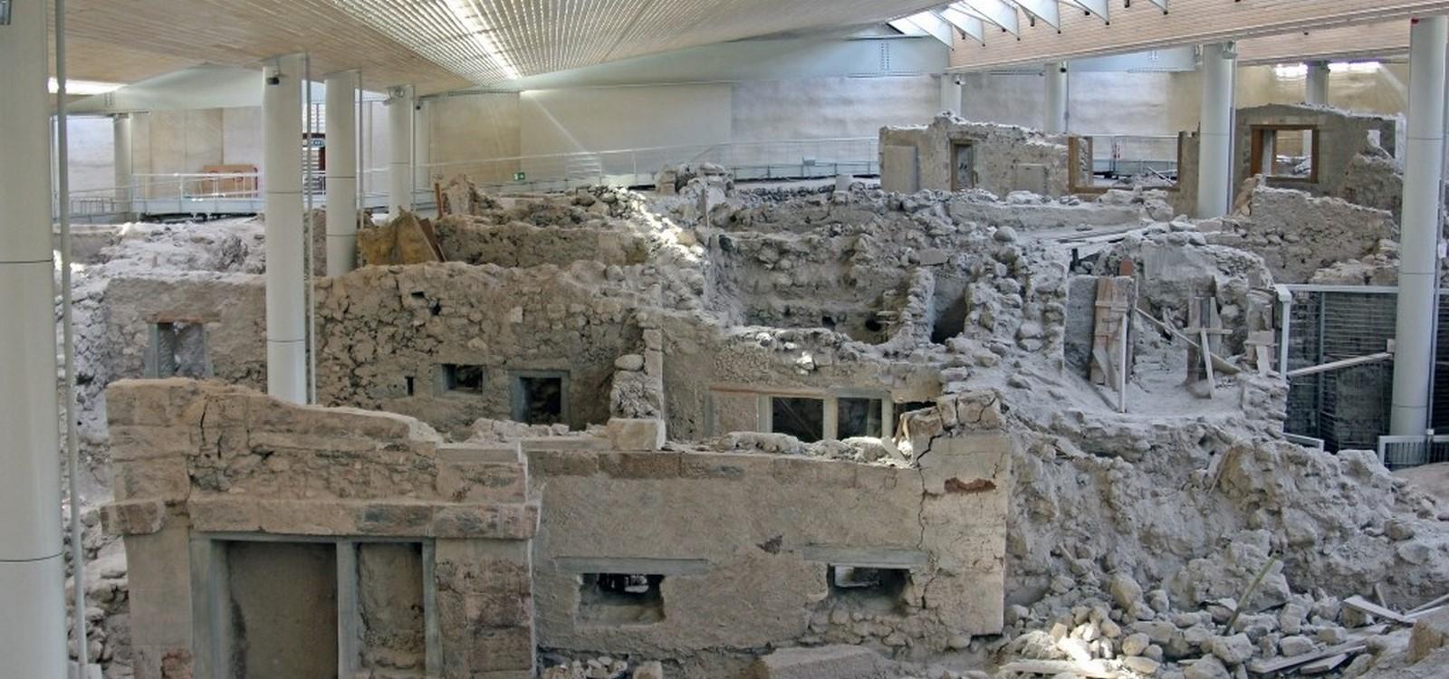 Lost In Time: Akrotiri, Greece - Sheet2