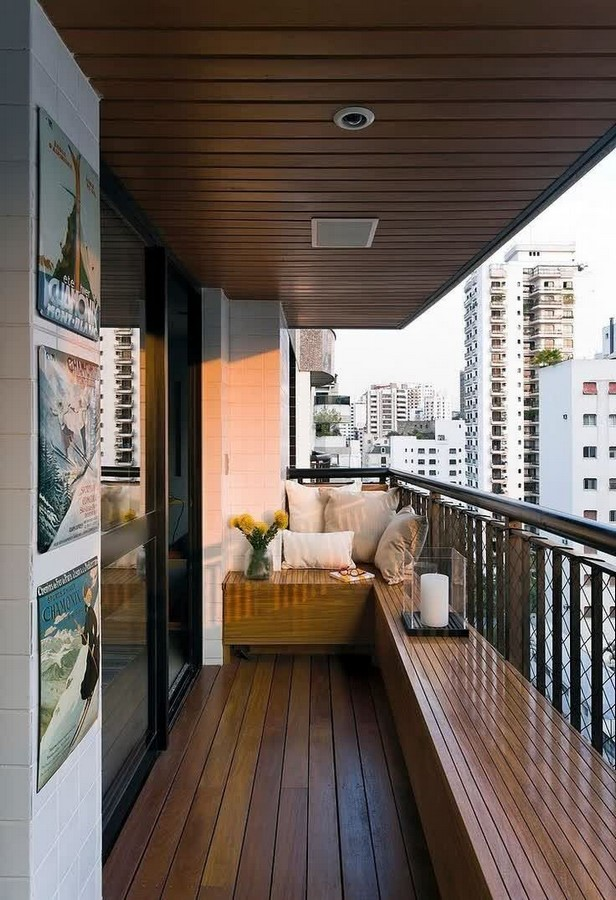 20 Earthy interiors ideas for enhancing your balcony space - Sheet4