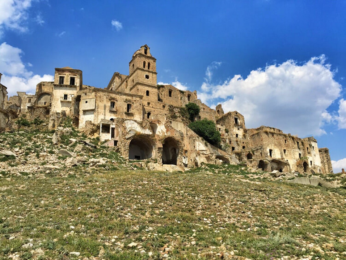Lost In Time: Craco, Italy - Sheet1