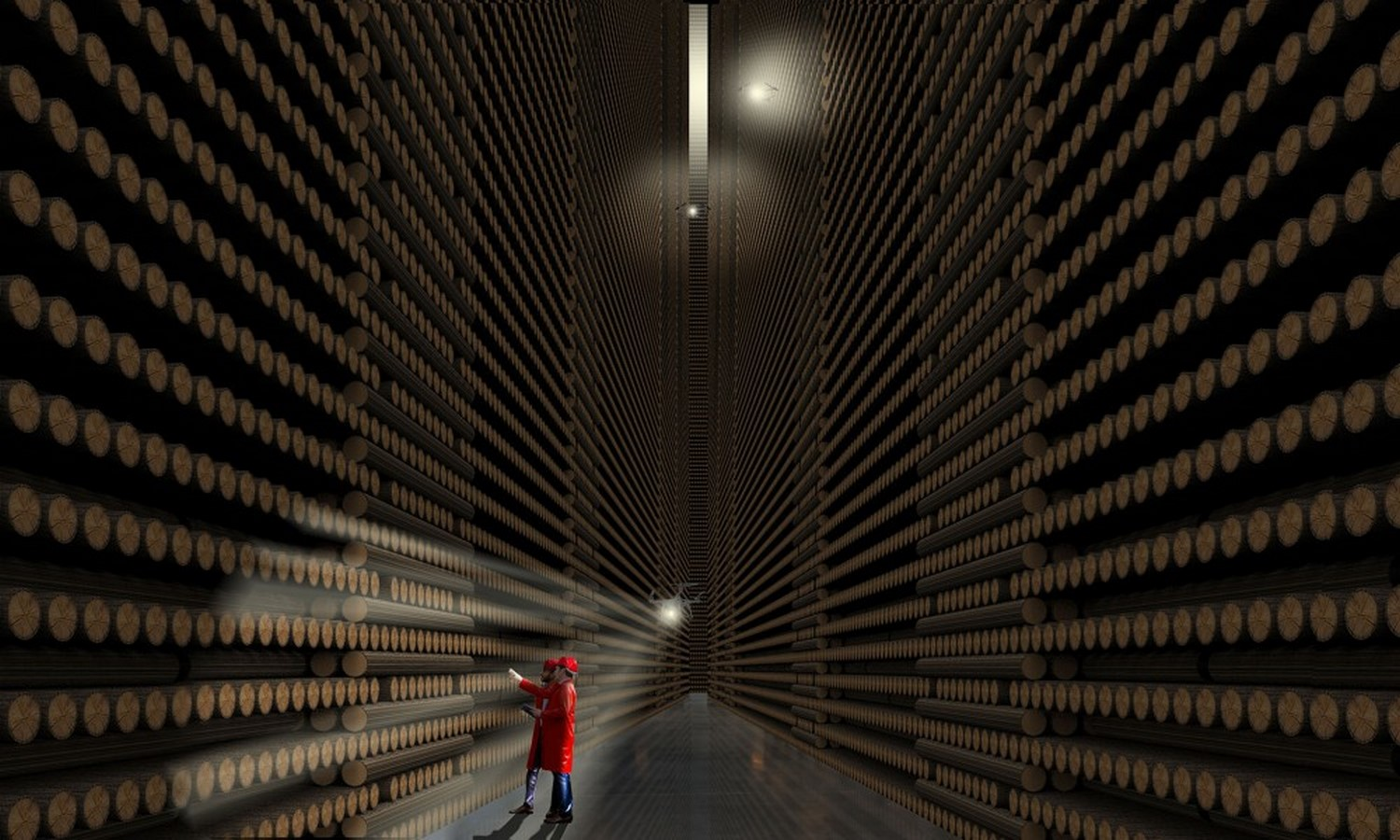 Anders Berensson Architects unveils World's Largest Timber Structure - Sheet5