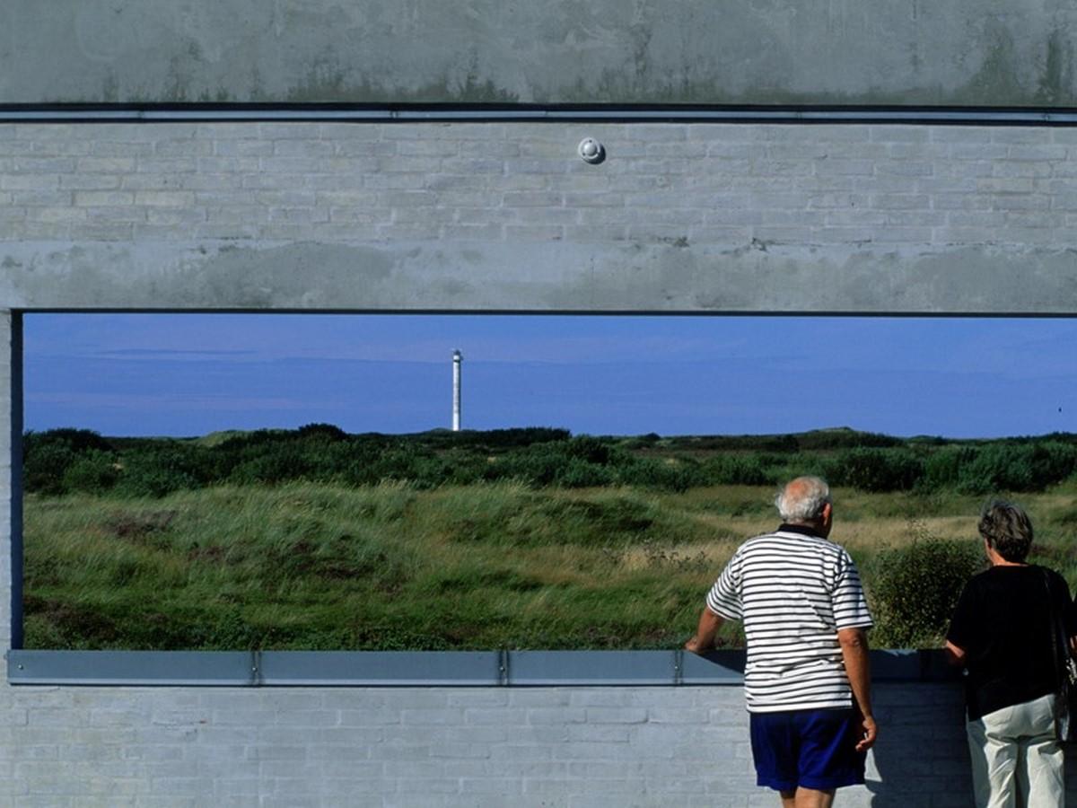 Skagen Odde Nature Centre by Jørn Utzon: Desert Fortress - Sheet3