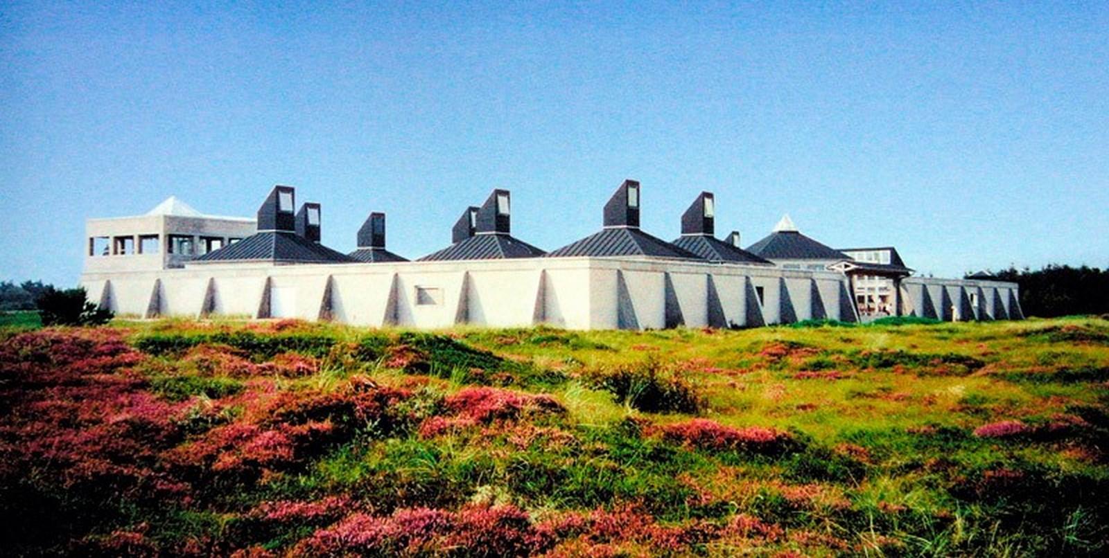 Skagen Odde Nature Centre by Jørn Utzon: Desert Fortress - Sheet4
