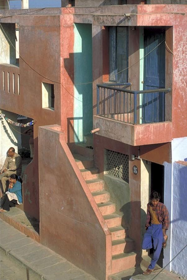 Aranya Low-cost Housing by B.V Doshi Low-cost urban housing - Sheet10