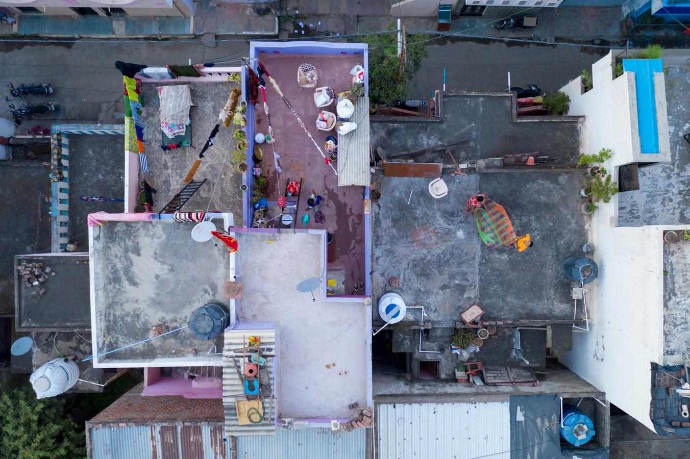 Aranya Low-cost Housing by B.V Doshi Low-cost urban housing - Sheet6