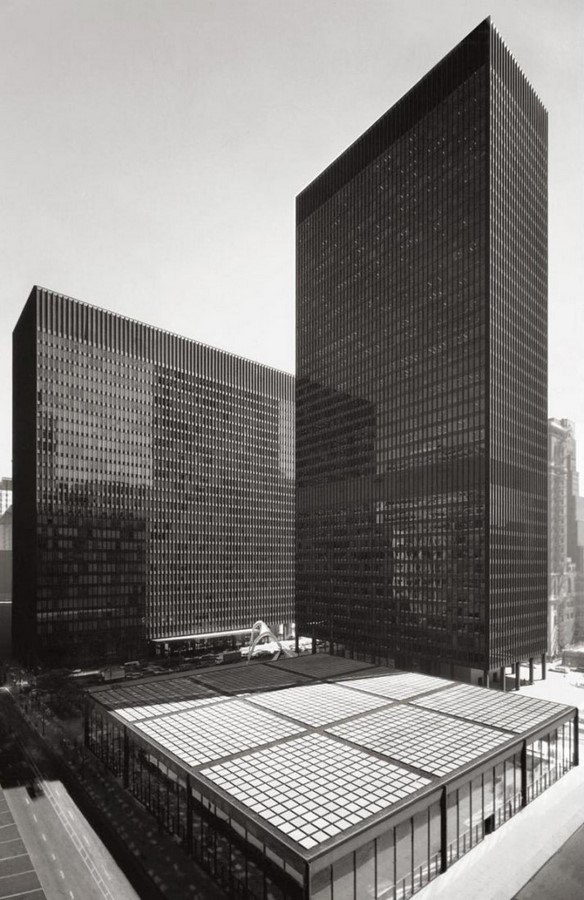 Chicago Federal Centre by Ludwig Mies van der Rohe: A union of Buildings - Sheet2