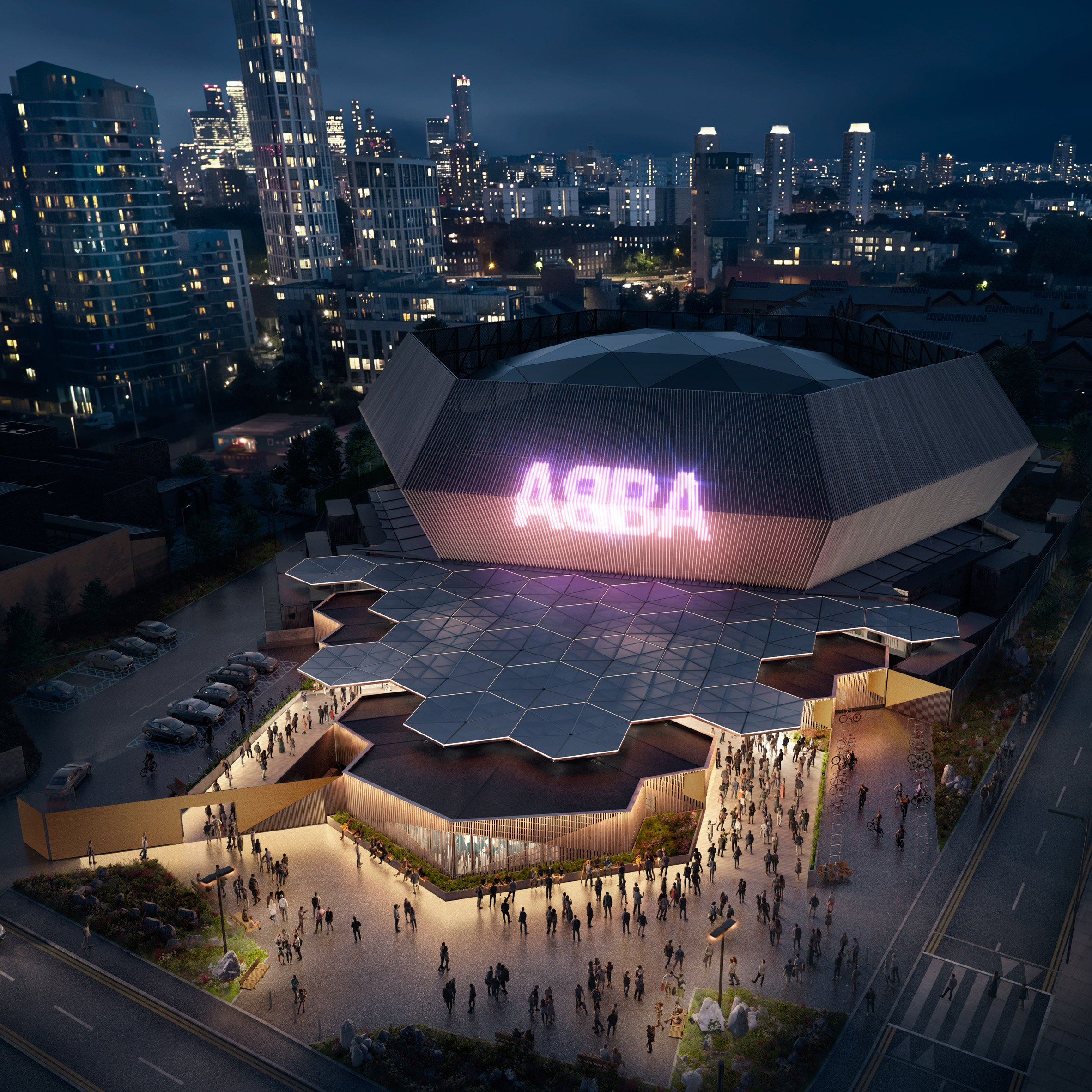 Hexagonal arena to designed for ABBA reunion tour by Stufish
