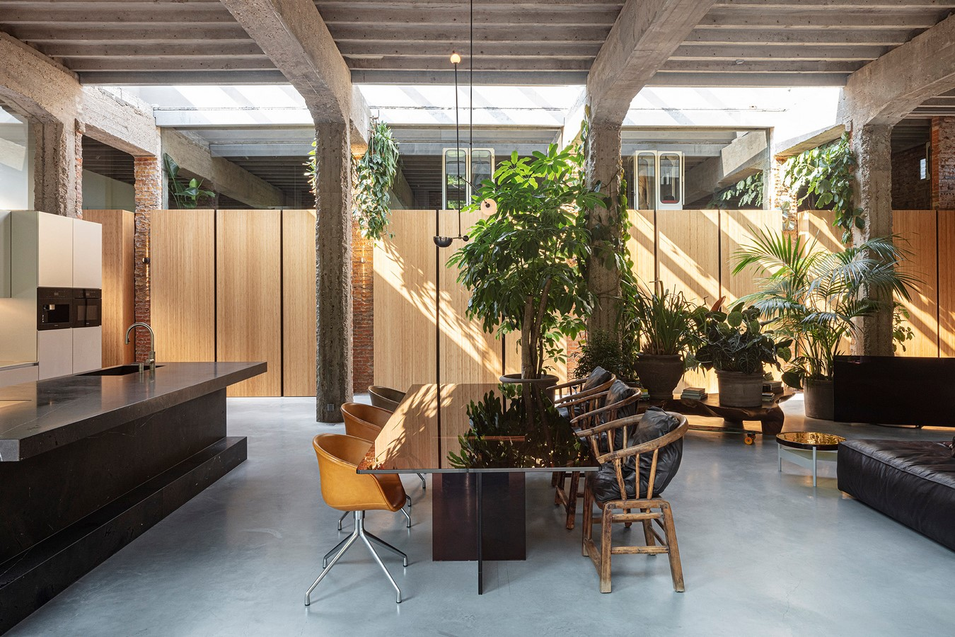 Abandoned 1940s Sports Building converted into New Villa With Naked Brick Walls by MASA Architects - Sheet10
