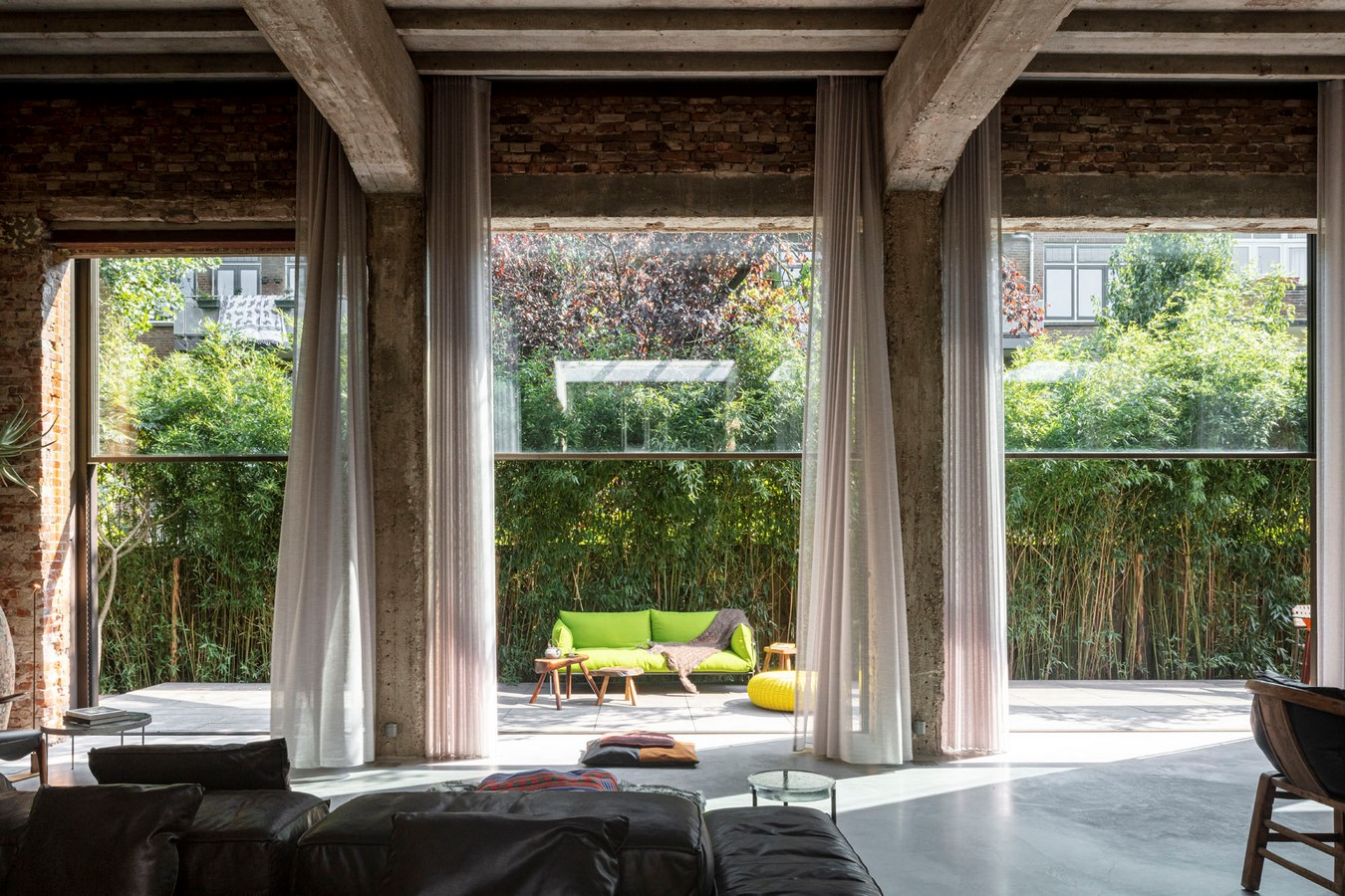 Abandoned 1940s Sports Building converted into New Villa With Naked Brick Walls by MASA Architects - Sheet13