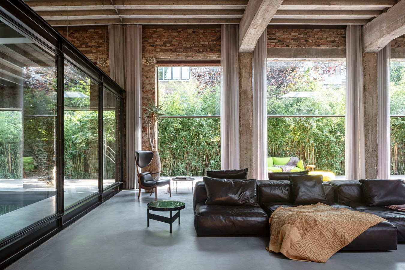 Abandoned 1940s Sports Building converted into New Villa With Naked Brick Walls by MASA Architects - Sheet3